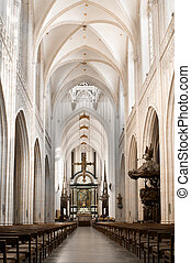 cathédrale, nef