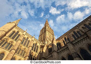 cathédrale, salisbury