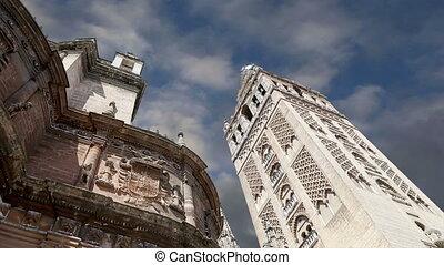cathédrale, seville., espagne