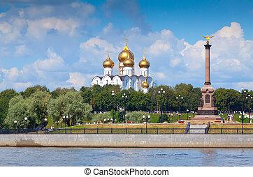 cathédrale, supposition, yaroslavl