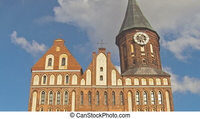 cathédrale, timelapse, konigsberg