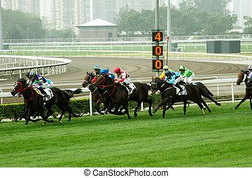 Cathay Pacific Hong Kong International Races - HONG KONG -...