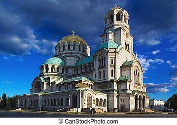 "Cathedral ""Alexander Nevski"", Sofia, Bulgaria"