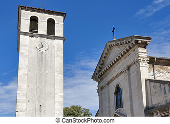 Cathedral Assumption of the Blessed Virgin Mary in Pula, Croatia