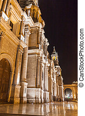 Cathedral at Plaza de Armas square in Arequipa