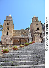 cathedral-basilica, sicile, cefalu