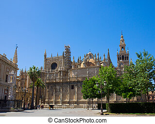 Cathedral church of Seville, Spain