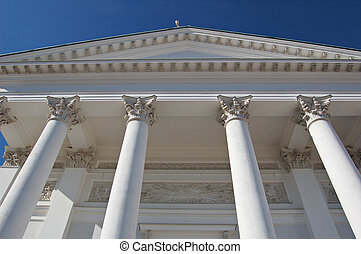 Cathedral columns - Helsinki cathedral