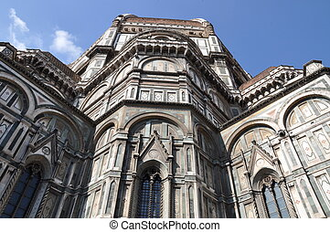 Cathedral facade of the Duomo