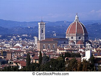 Cathedral, Florence, Italy.