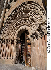 cathedral gate, spanish architecture