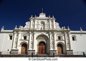 Cathedral in Antigua, Guatemala