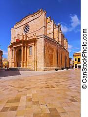 Cathedral in Ciutadella on Minorca