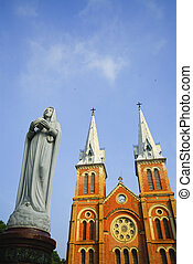 Cathedral in Ho Chi Minh City, Vietnam