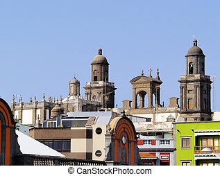 Cathedral in Las Palmas, Gran Canaria, Canary Islands, Spain