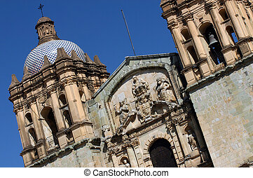 Cathedral in Oaxaca city
