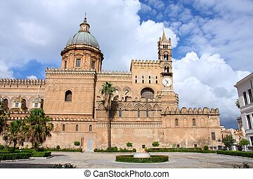 Cathedral in Palermo, Italy