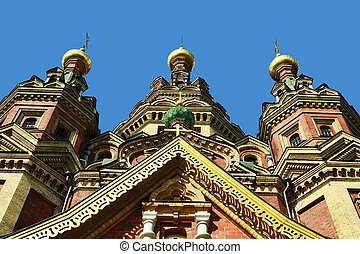 Cathedral in Peterhof, Russia