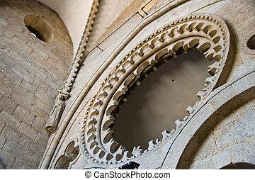 cathedral in Santiago de Compostela, Spain