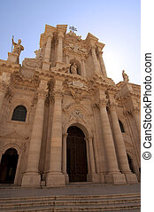 Cathedral in Siracusa Italy