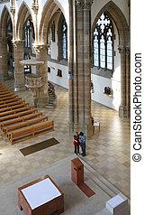 Cathedral interior. Munich