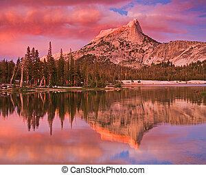 Cathedral Lake and Peak