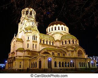 Cathedral of Alexander Nevski. Sofia, Bulgaria
