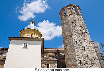 Cathedral of Amelia. Umbria. Italy.