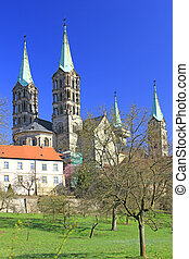 Cathedral of Bamberg Germany