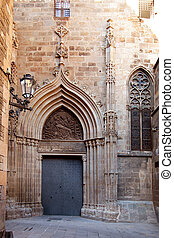 Cathedral of Barcelona Seu Seo gothic architecture in spain...