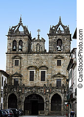 Cathedral of Braga - Full view of the cathedral of Braga...