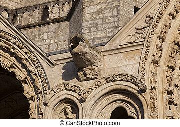 Cathedral of Chartres, Eure-et-Loir, Centre-Val de Loire,...