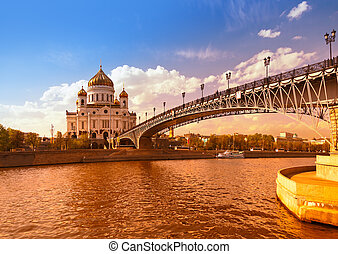 Cathedral of Christ the Savior - Moscow Russia - Cathedral...