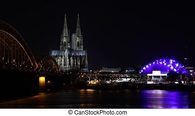 Cathedral Of Cologne, Timel Lapse