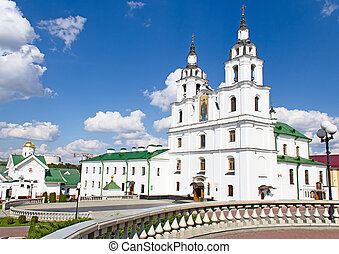 Cathedral of Holy Spirit in Minsk, Belarus. - Main Orthodox ...