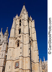 Cathedral of Leon, Castilla y Leon, Spain