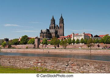 Cathedral of Magdeburg, Germany - Cathedral of Magdeburg at ...