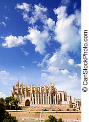 Cathedral of Majorca  La seu from Palma de Mallorca