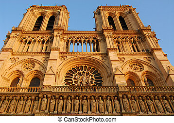 Notre Dame de Paris - Cathedral of Notre Dame de Paris in ...