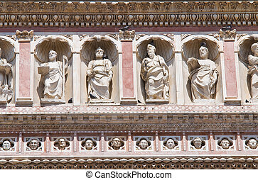 Cathedral of Orvieto. Umbria. Italy.