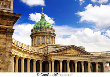 Cathedral of Our Lady of Kazan, Saint Petersburg, Russia