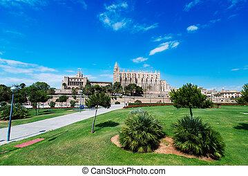 Cathedral of Palma de Mallorca in Spain