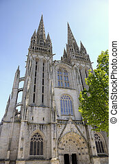 Cathedral of Quimper. France