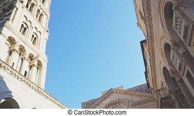 Cathedral of Saint Domnius in Split, Croatia.