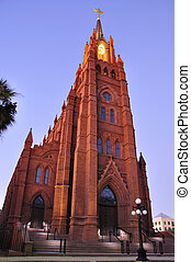 Cathedral of Saint John the Baptist in Charleston, South...