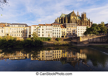 Cathedral of Saint Stephen in Metz