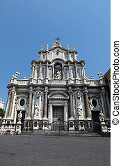 Cathedral of Santa Agatha in Catania