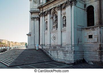 Cathedral of Santa Maria della Salute, morning
