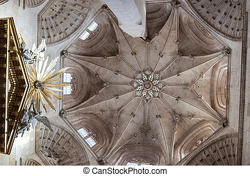 Cathedral of Santa Maria in Burgos - BURGOS, SPAIN - OCT 19...