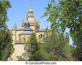 Cathedral of Segovia, Spain